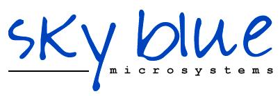 Logo – Sky Blue Microsystems GmbH