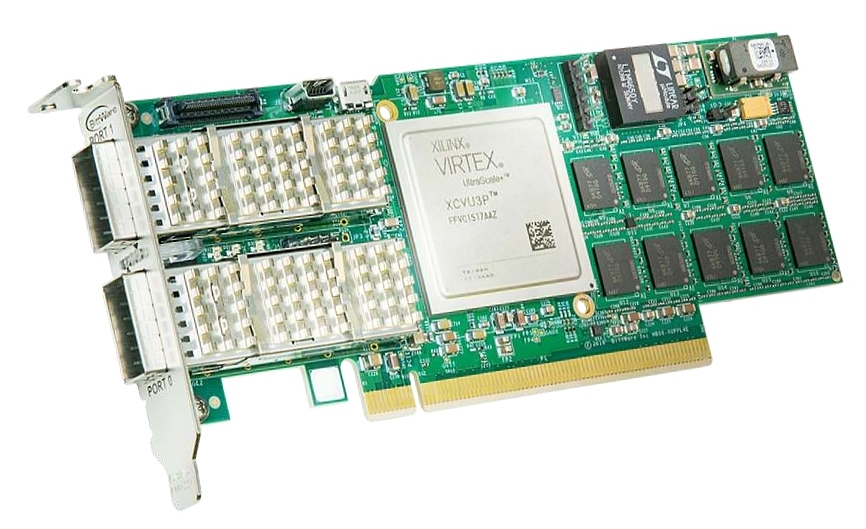 BittWare XUPPL4 – Xilinx UltraScale+ VU3P FPGA with 2x QSFP