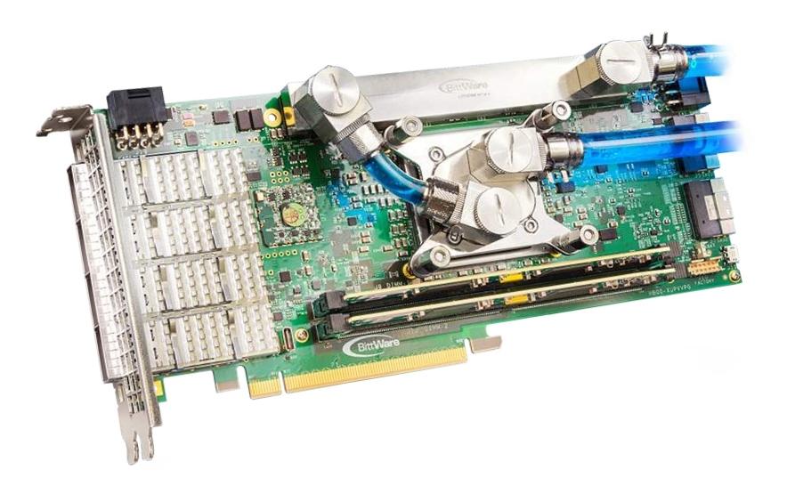 BittWare XUPVVP – Xilinx UltraScale+ VU13P FPGA with 4x QSFP and 256