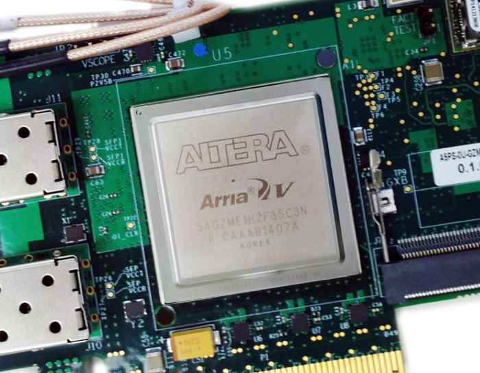 EDT PCIe8 G3 A5-40G full- or half-height – Altera Arria V FPGA, one