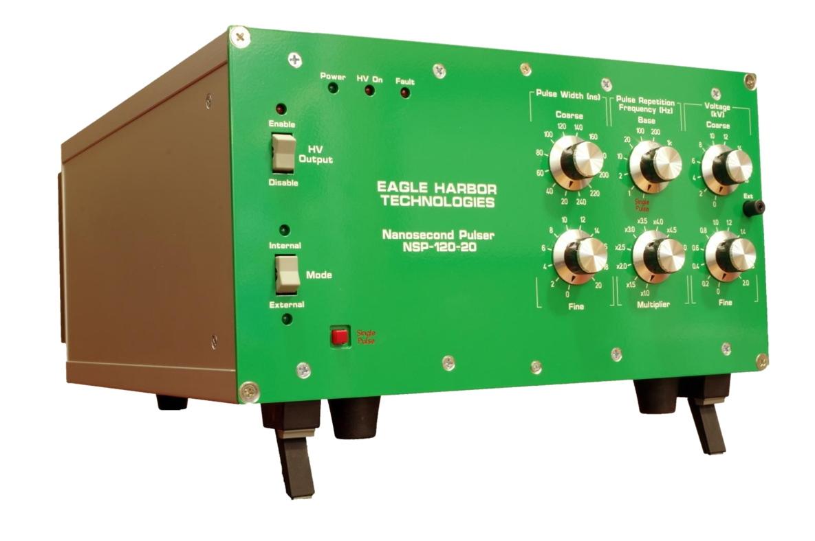 Nanosecond Pulser | 30 – 5000 W | Adjustable 5 – 25 kV, 20