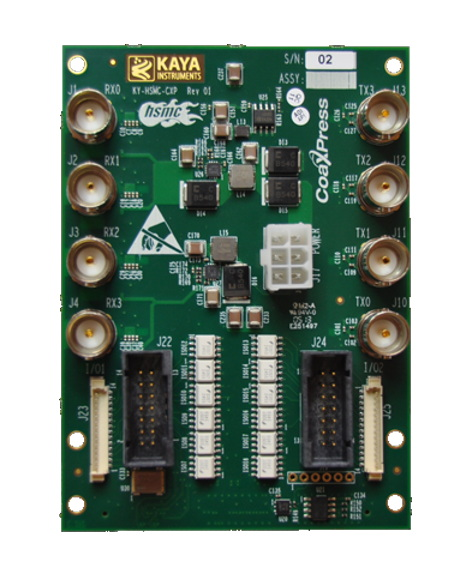 Kaya KY-HSMC-CXP – High Speed Mezz CXP – Sky Blue Microsystems GmbH